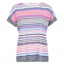 T-Shirt - Loose Fit - Stripes