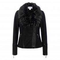 Jacke - Regular Fit - Fake Fur
