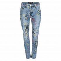 Jeans - Regular Fit - Muster