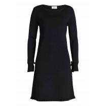 Kleid - Regular Fit - Material-Mix
