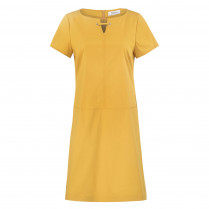 Shirtkleid - Comfort Fit - unifarben