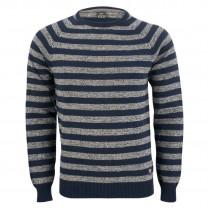 Pullover - Modern Fit - Blockstreifen 100000