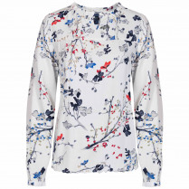 Bluse - Regular Fit - Floralprint