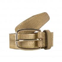 Ledergürtel - Gold 100000