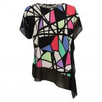 Shirt - oversized - Muster 100000