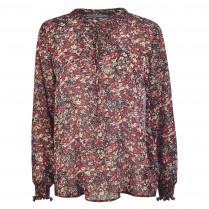 Bluse - Loose Fit - Flowerprint