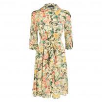 Kleid - Regular Fit - Flower-Print 100000