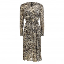 Kleid - Loose Fit - Animal-Print