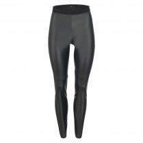 Leggings - Skinny Fit - Leder-Optik