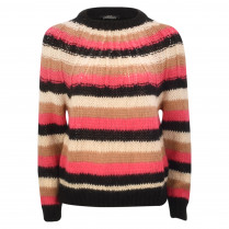 Strickpullover - Loose Fit - Stripes
