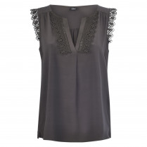 Bluse - Loose Fit - Spitze