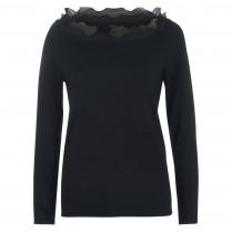 Pullover - Regular Fit - Rüschen