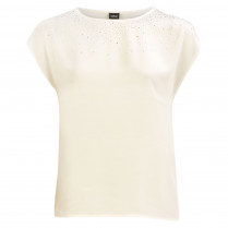 T-Shirt - Loose Fit - Strass
