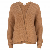 Strickjacke - Loose Fit - Wollmix
