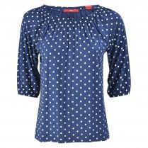 Bluse- Regular Fit - Dots 100000