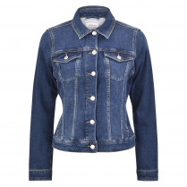 Jeansjacke - Regular Fit - Wash-Out