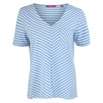 T-Shirt - Loose Fit - Stripes 100000