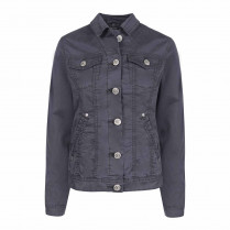 Denimjacke - Regular Fit - unifarben