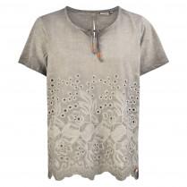T-Shirt - Comfort Fit - Häkel-Element 100000