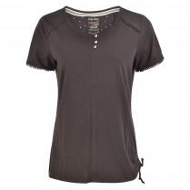 T-Shirt - Comfort Fit - Häkelsaum 100000