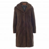 Mantel - Loose Fit - Fake Fur