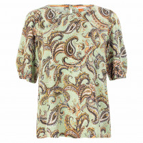 Bluse - Loose Fit - Paisley