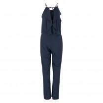 Jumpsuit - Slim Fit - Crepe uni 100000