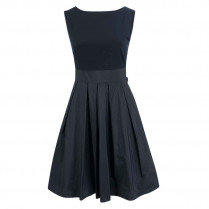 Kleid - fitted - Material-Mix 100000