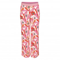Hose - Loose Fit - Flowerprint