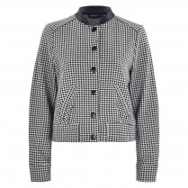 Jacke - Loose Fit - Houndstooth