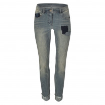 Boyfriend-Jeans - Slim Fit - Used-Look
