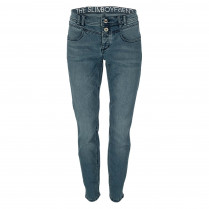 Jeans - Straight Fit - Used-Look