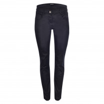 Jeans - Super Skinny Fit - Leder-Optik