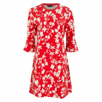 Kleid - Loose-Fit - Florals 100000
