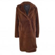 Mantel - Comfort Fit - Fake-Fur