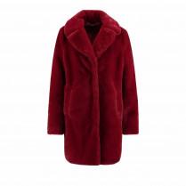 Mantel - Comfort Fit - Fake Fur