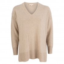 Pullover - oversized - Woll-Mix