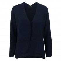 Strickjacke - Regular Fit - Hakverschluss