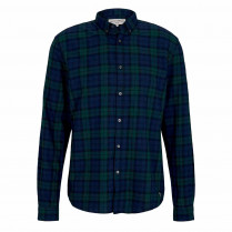 Flanellhemd - Regular Fit - Button Down