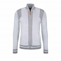Strickjacke - Modern Fit - Zipper