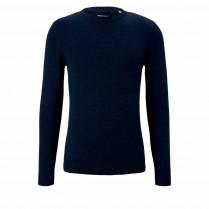Pullover - Regular Fit - Melange-Optik