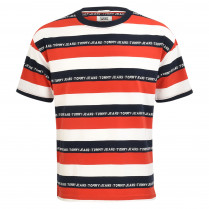 T-Shirt - Relaxed Fit - Stripes