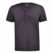 T-Shirt - Regular Fit - Henley