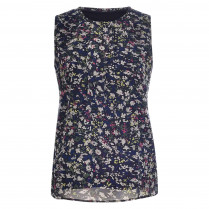Chiffonbluse - Loose Fit - Flowerprint