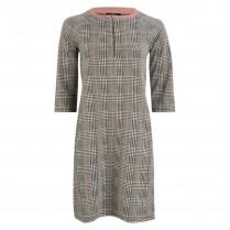 Kleid - Regular Fit - Glencheck 100000
