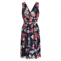 Kleid - V-Neck - Flowerprint