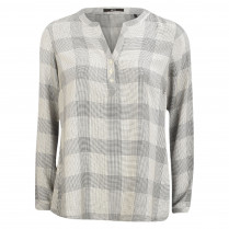Shirtbluse - Loose Fit - Check