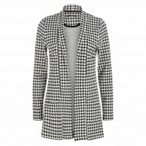 Sweatblazer - Regular Fit - Houndstooth