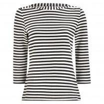 Sweatshirt - Loose Fit - Boatneck