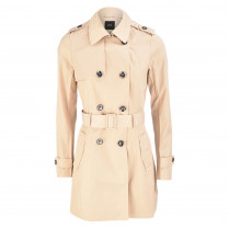 Trenchcoat - Regular Fit - Knopfverschluss 100000